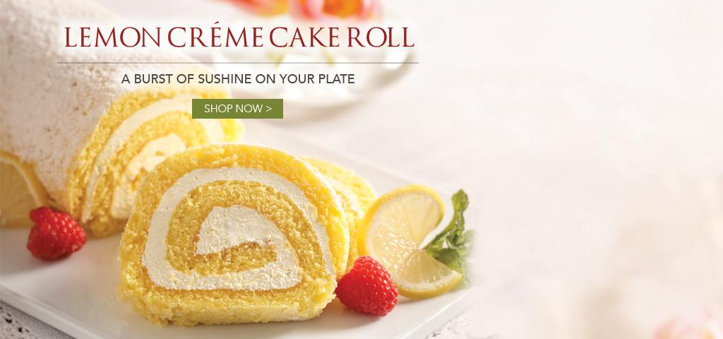 Lemon Creme Swirl Cake